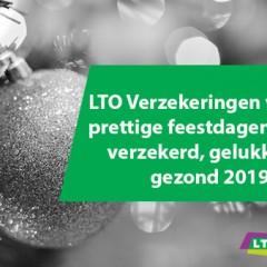 LTO Verzekeringen wenst u prettige feestdagen