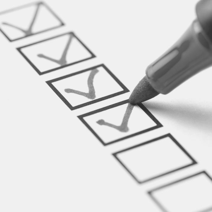 Checklist: elektrakeuring